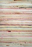 Pile de barres en bois Image libre de droits