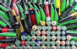 Pile de batterie Photo stock