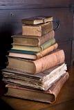 Pile de bibliothèque de Pmd Photos stock