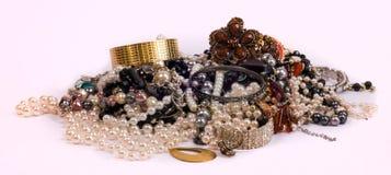 Pile de bijoux image libre de droits