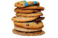 Pile de biscuit Images stock
