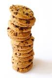 Pile de biscuits Photographie stock