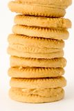 Pile de biscuits Photo stock