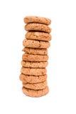 pile de biscuits Image stock