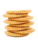 Pile de biscuits de sucre doux Photos libres de droits