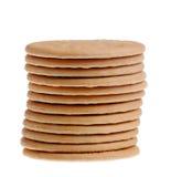 Pile de bisquits Photos stock