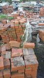 Pile de blocaille de construction Images stock