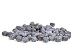Pile de Blueberrie Photos stock