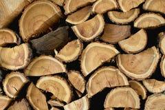 Pile de bois photos stock