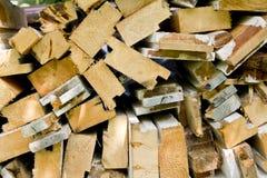 Pile de bois Photo stock
