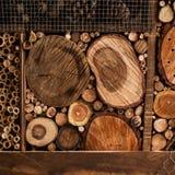 Pile de bois de chauffage Tas empilé confortable de bois de chauffage Concept d'hiver - W photos stock