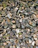 Pile de bois de chauffage Photos libres de droits