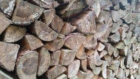 Pile de bois de chauffage Photo libre de droits