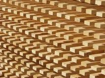 Pile de bois de construction Photos libres de droits