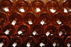 Pile de bouteilles Photos libres de droits