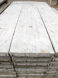 Pile de brame de construction en béton Photo stock