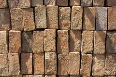 Pile de briques Photo libre de droits