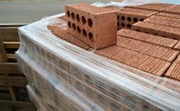 Pile de briques Photos stock