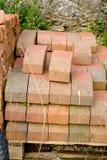 Pile de briques reprises photo libre de droits