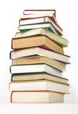 Pile de cache dur de livres Photos stock