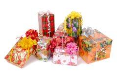 pile de cadeaux Photographie stock libre de droits