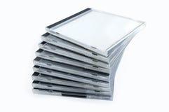 Pile de cadres à partir des disques image libre de droits