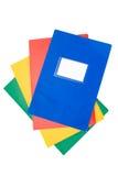Pile de cahiers Photographie stock libre de droits