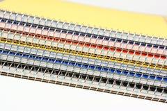 Pile de cahiers Photo libre de droits