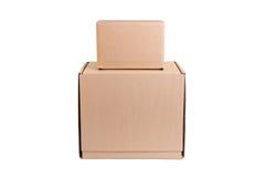 Pile de carton Image libre de droits