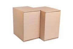 Pile de carton Images stock