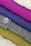 Pile de chandails photo libre de droits