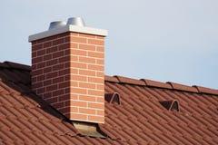 Pile de cheminée Image libre de droits