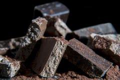 Pile de chocolat Images libres de droits