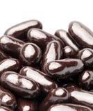 Pile de chocolat sur le fond blanc Photographie stock libre de droits