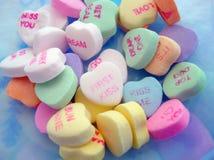 Pile de coeurs de sucrerie Photo libre de droits