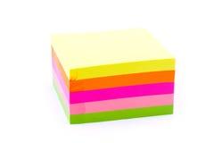 Pile de collants colorés Images stock