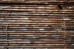 Pile de conseils en bois Image libre de droits