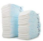 Pile de couche-culotte Photo stock