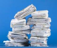 Pile de courrier Photos stock