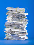 Pile de courrier Photo stock