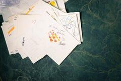 Pile de courrier Image stock