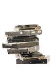 Pile de disque dur Photographie stock libre de droits