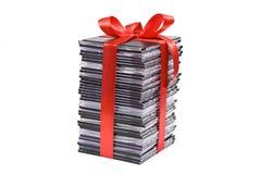 Pile de disque optique Photographie stock libre de droits