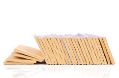 Pile de documents Image stock