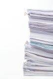 Pile de documents Image libre de droits