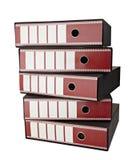 Pile de documents sur papier photographie stock