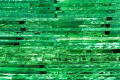 Pile de feuilles en verre transparentes comme fond Photographie stock libre de droits