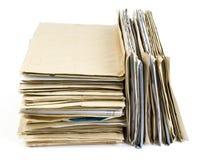 Pile de fichier images stock