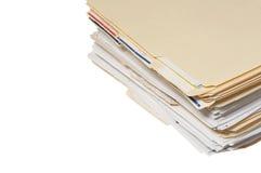 Pile de fichier image stock