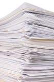 Pile de fichiers Photo libre de droits